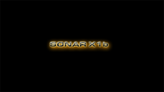 Sonar X1b Wallpaper Widescreen Mini