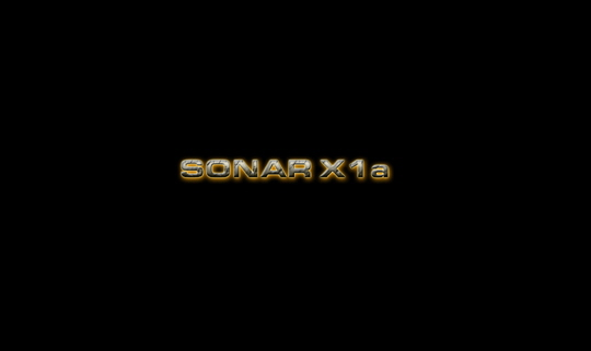 Sonar X1a Wallpaper Widescreen